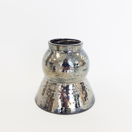 Ashley Hardy Medium Chrome Vase