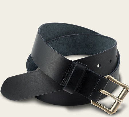 Red Wing Shoes Black Pioneer Leather Belt