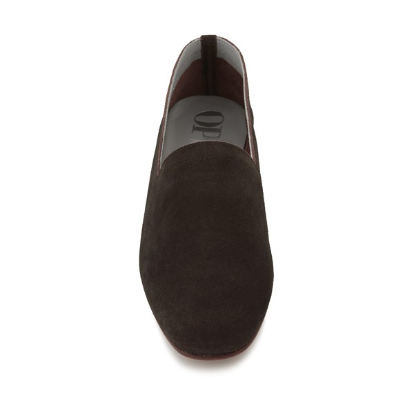 Ops&Ops No10 Cocoa Suede Flats