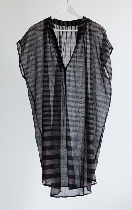 Two New York Sheer black and grey tunic