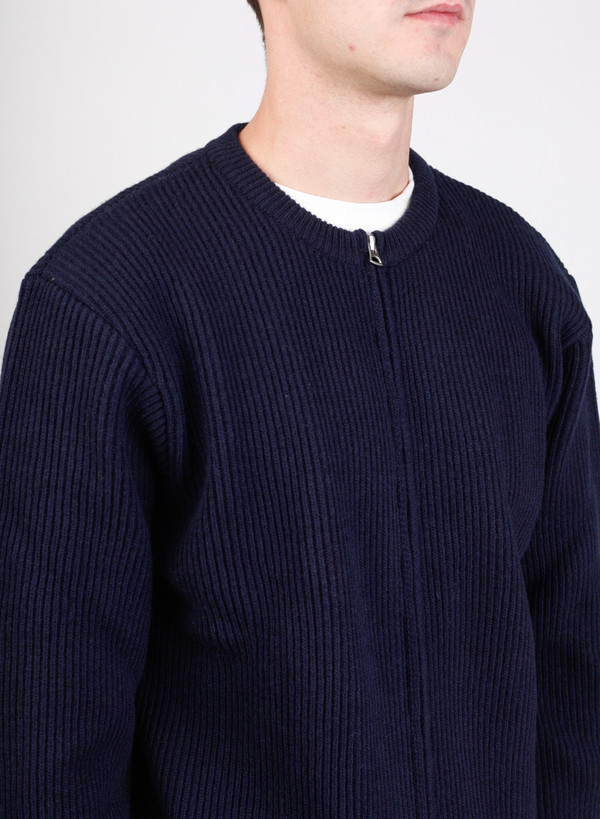 Our Legacy Knit Liner Navy Merino