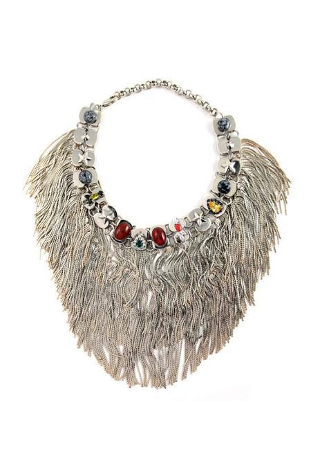 Iosselliani Anubian Jewels Statement Necklace