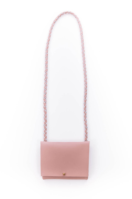 ARA Handbags Smalls Fold Over Shoulder Strap (Pink)