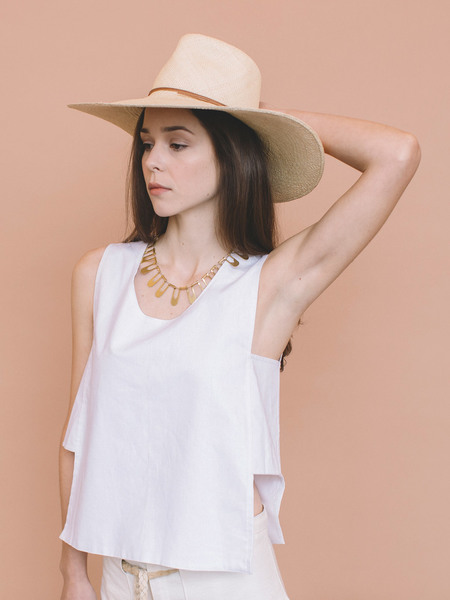 Brookes Boswell Wakefield Straw Hat