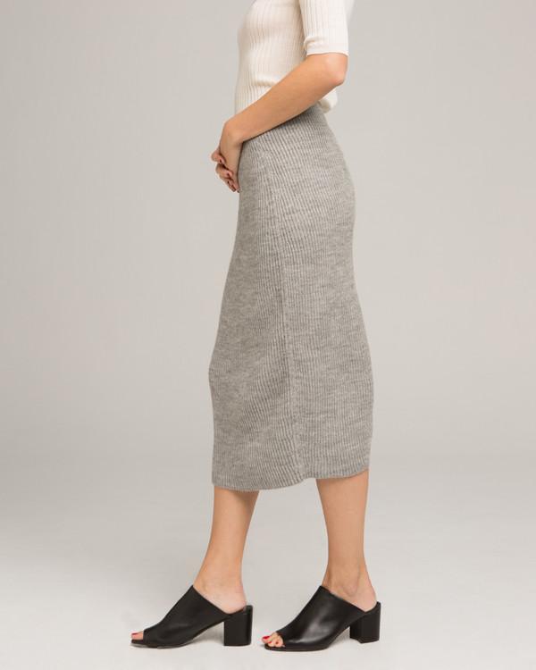 Micaela Greg Tube Alpaca Knit Skirt
