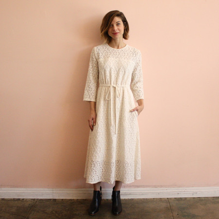 The Podolls Ivory Lace Dress