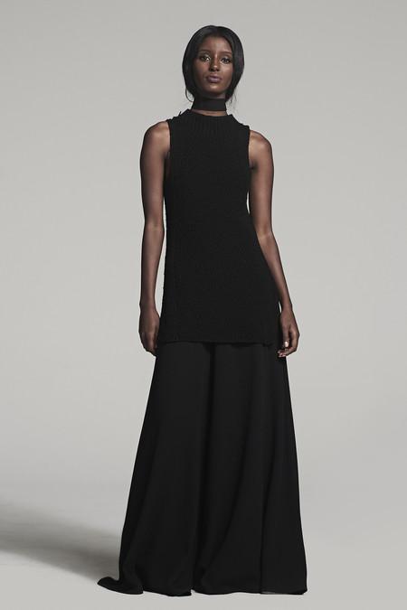 VOZ Textured Mock Neck - Black