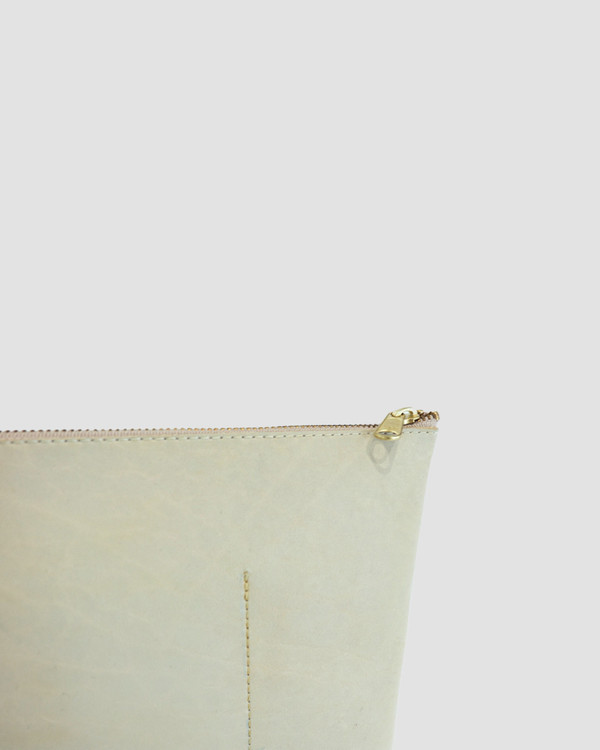 esby leather ESBY PORTFOLIO - BONE