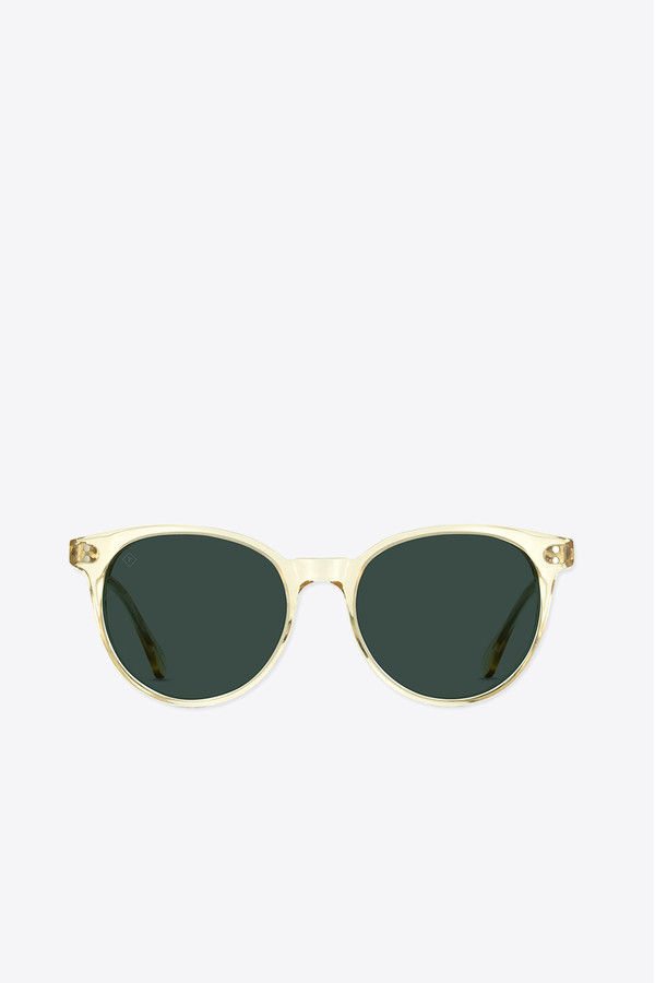 Raen Optics Norie polarized sunglasses in champagne crystal