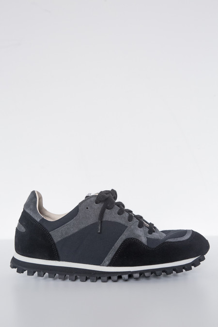 Spalwart Suede Marathon Low Trail Shoe - Black