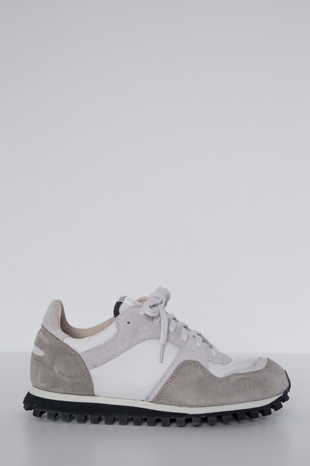 Spalwart Suede Marathon Low Trail Shoe - White