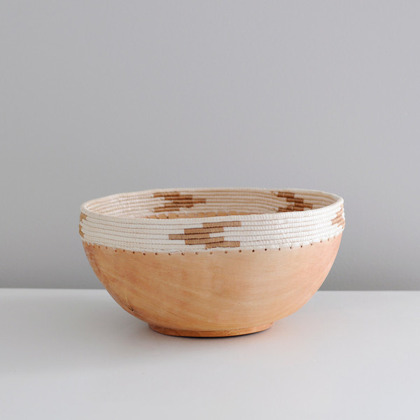 Indego Africa Copabu Wooden Bowl