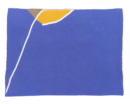 Cold Picnic Knit Blanket in 'Sailboat'