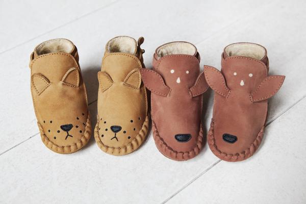 Donsje Lion Kapi Lining baby shoe