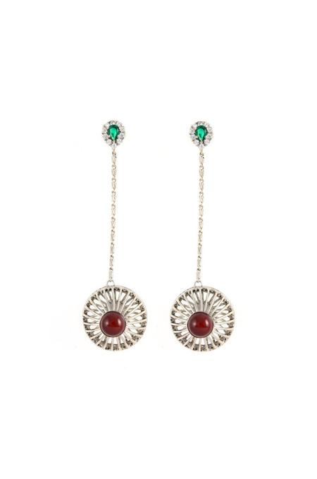 Iosselliani Anubian Jewels Cage Earrings