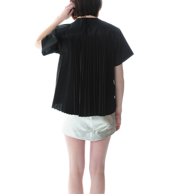 Sacai Luck Black Pullover Shirt