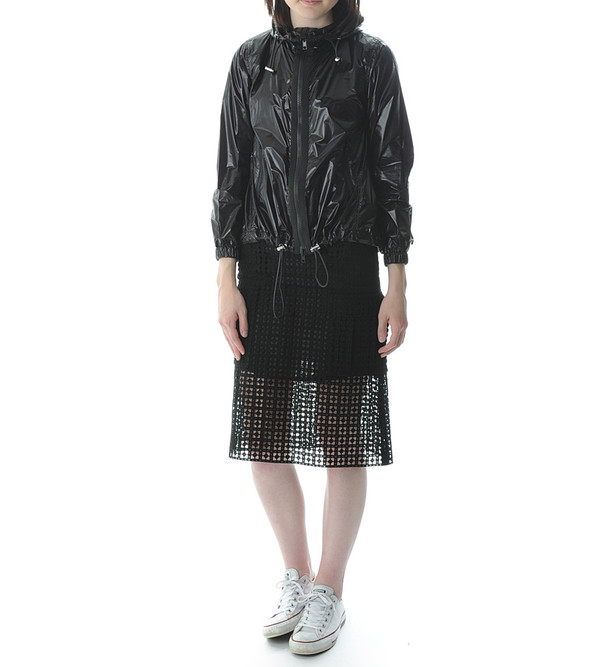 Sacai Luck Black Wind Breaker Jacket
