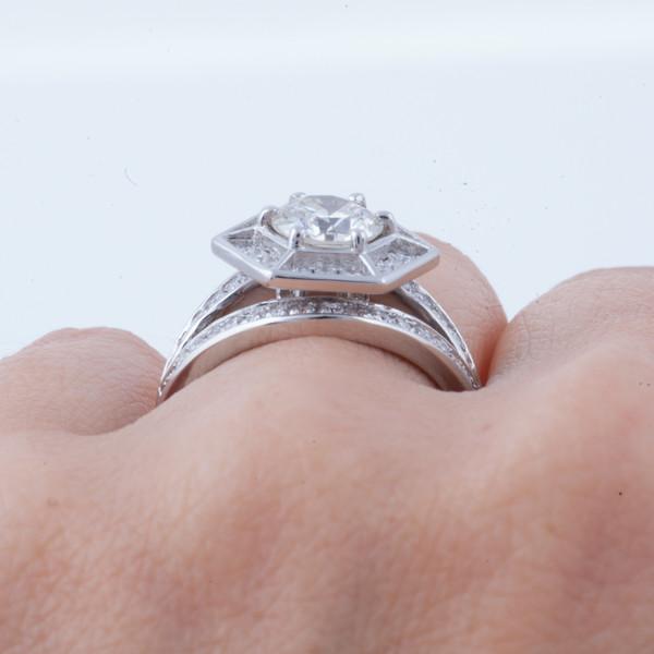 Shahla Karimi CUSTOM Marry Me Honey Engagement Ring