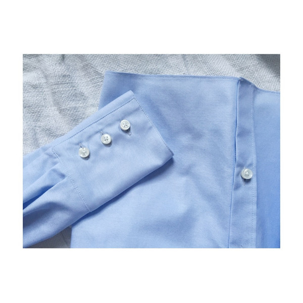 UNIFORME Jenna Off Shoulder Shirt (Azure Blue)