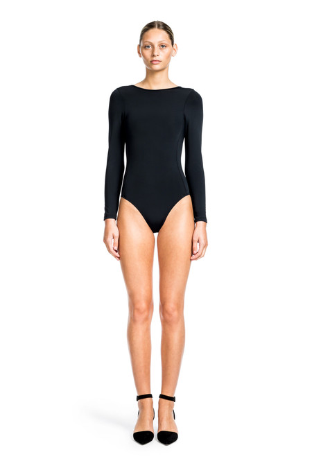 Beth Richards Shade Suit - Black LONG SLEEVE ONE PIECE