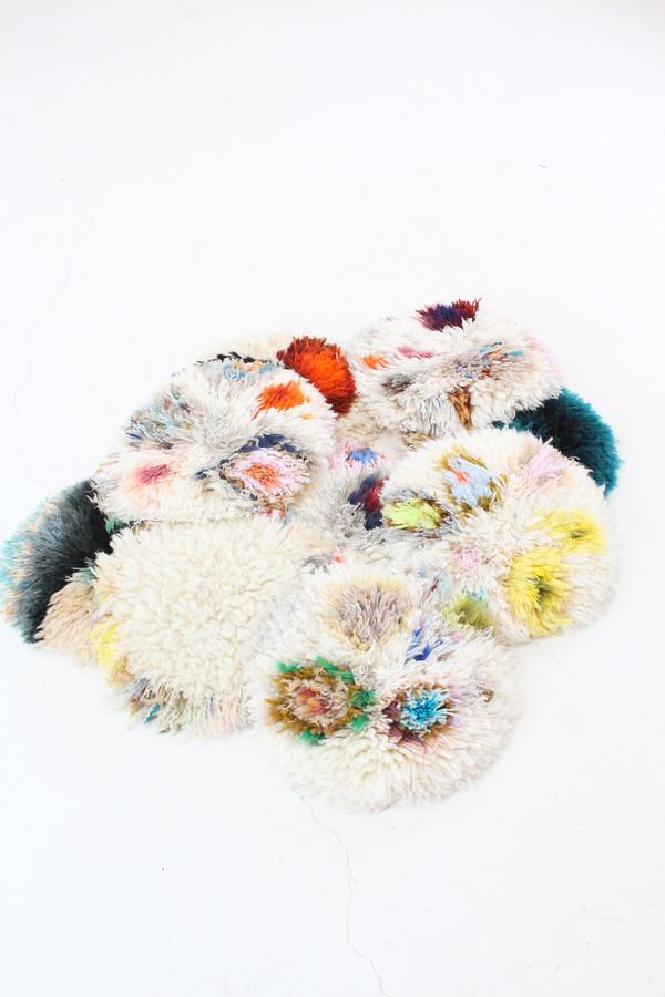 French Handmade Fringe Pillows Ab1