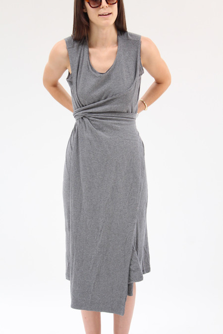 Kowtow Envelope Dress Grey Heather