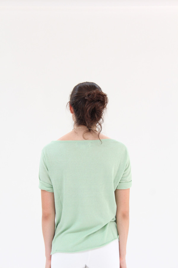 Beklina Knit T Shirt Mint
