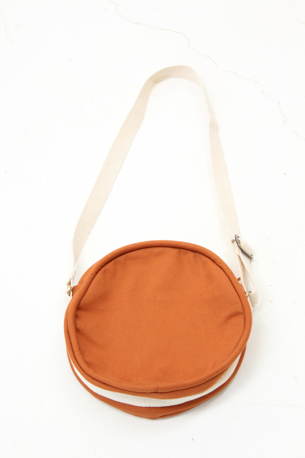 Lotfi Canteen Bag Rust