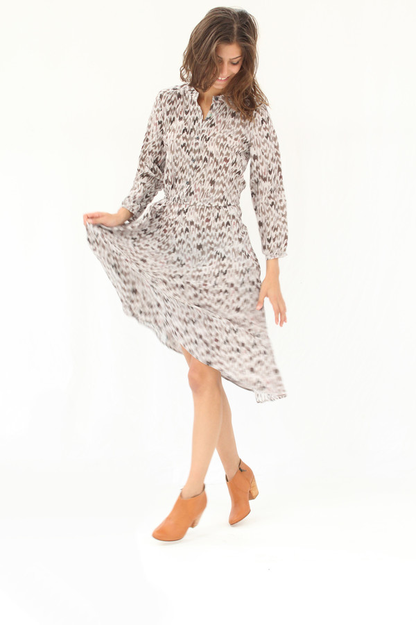 Podolls Rowan Dress Hazel Silk