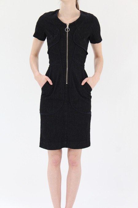 Prairie Underground Harness Dress Black