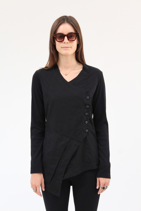 Prairie Underground Lime Hawk Blouse Black