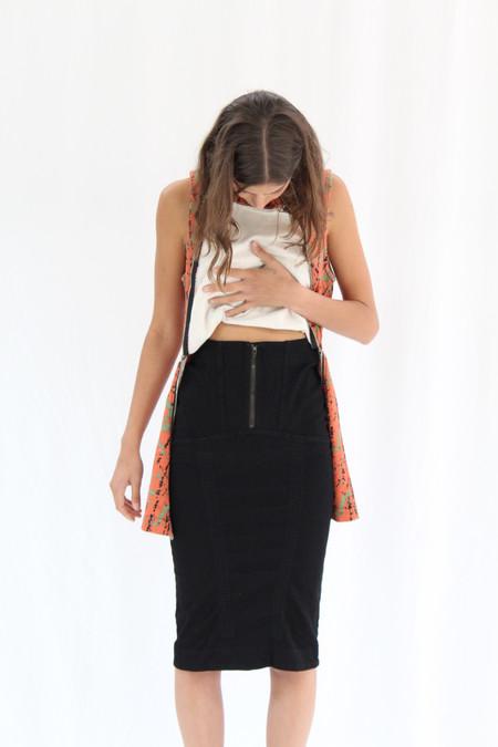 Prairie Underground Monomania Skirt Black