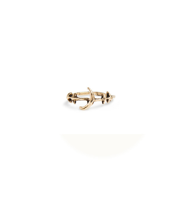 Mercurial NYC Crescent Ring