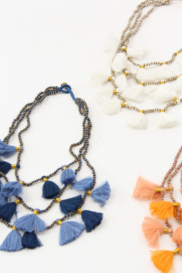 Bluma Project Tassel Necklaces