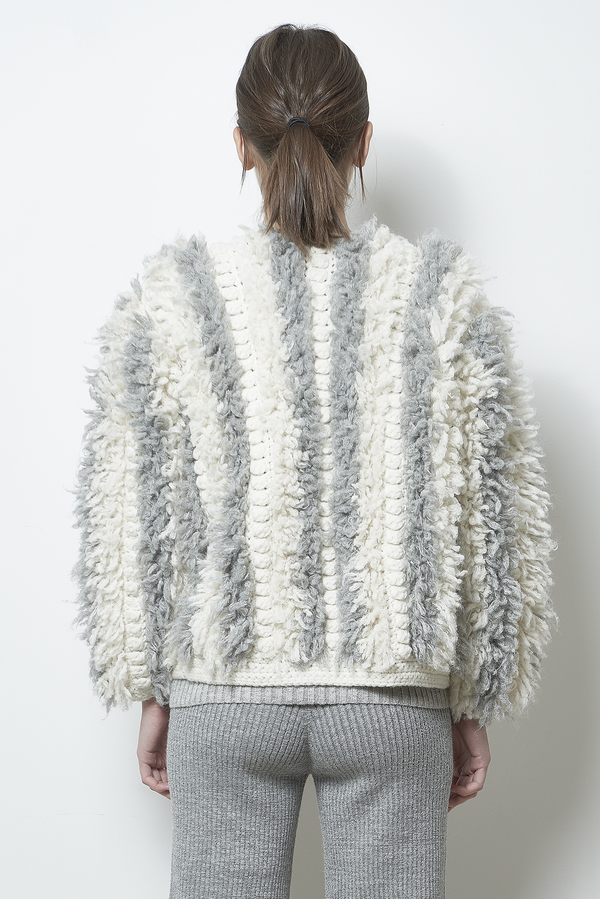 ELEVEN SIX SOPHIA SWEATER JACKET