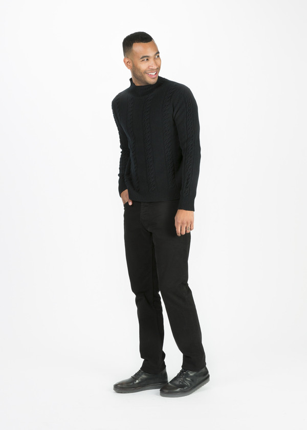 Men's Margaret Howell Lambswool Cable Knit Sweater