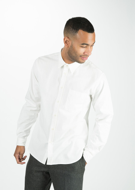 Men's Margaret Howell Raw Cotton Slim Work Shirt