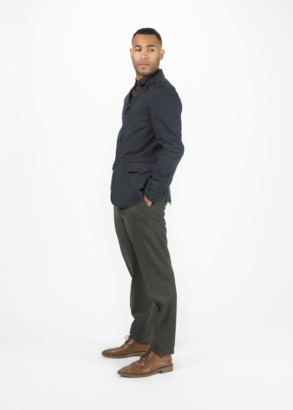 Men's Margaret Howell Washed Cotton Twill Blazer