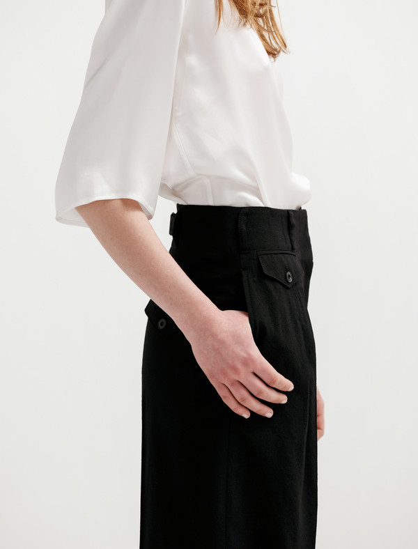 Lemaire Two-Pleat Pants - Black