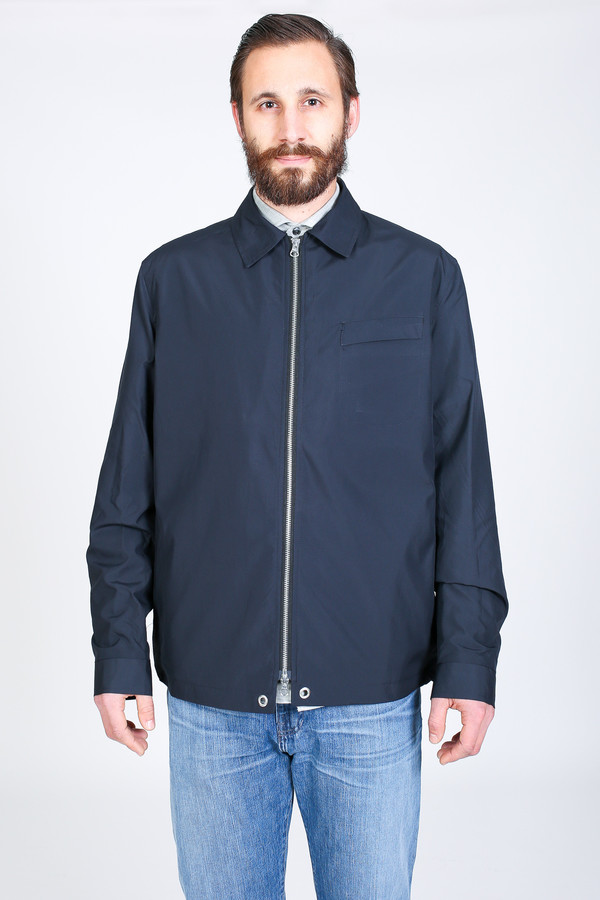 Men's Oliver Spencer Dover Jacket in Navy