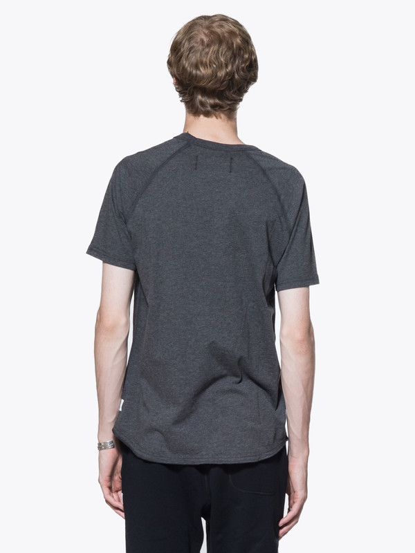 Men's Reigning Champ Knit Cotton Jersey Raglan Tee