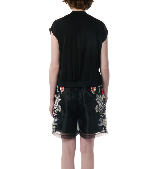 3.1 Phillip Lim Embroidered Tattoo Shorts
