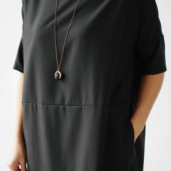 Lu. Revel Dress in Raven