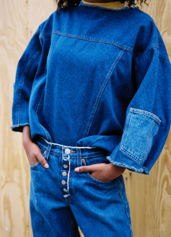From Trinity Denim In Why Double Denim