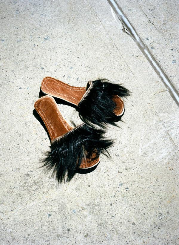 Moroccan Fur Sandals