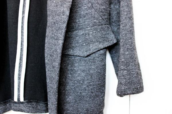 Le Lis Open Knit Blazer