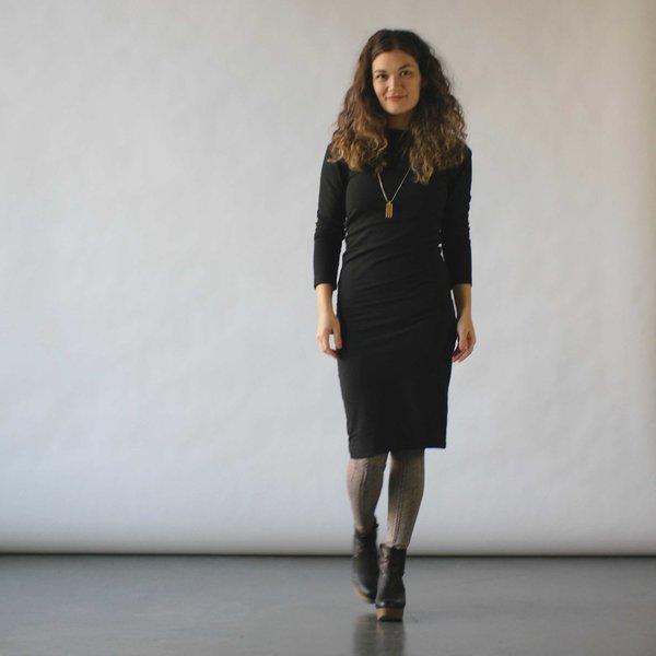 Study NY Long Sleeve Twist Dress