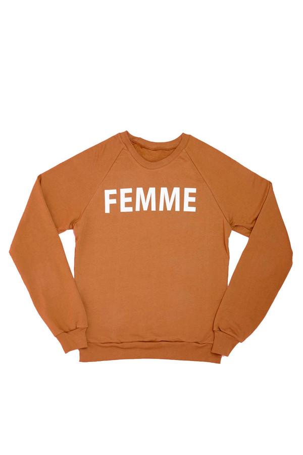 Femme Sweatshirt - WORKING GIRLS