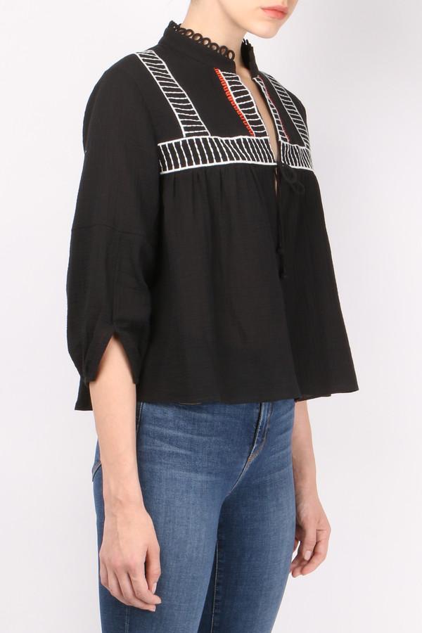 Apiece Apart Embroidered Loreto Blouse