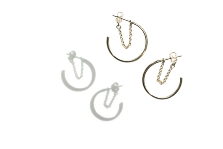 Silversheep Jewelry Small Solstice Hoops